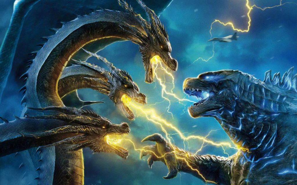 King Gheedorah vs. Godzilla